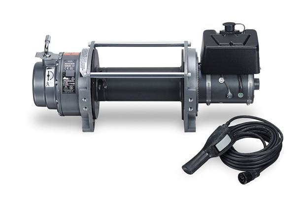 Series    12    DC Industrial    Winch     12V  12 000 lb      WARN    Industries   Go Prepared