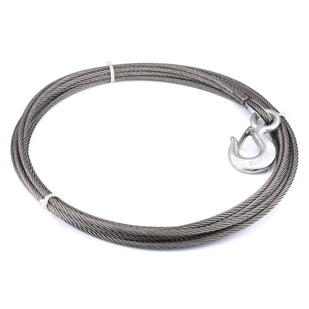 "Foto de Winch Cable & Hook 3/8"" X 50' - 15,100 lb - 23671"