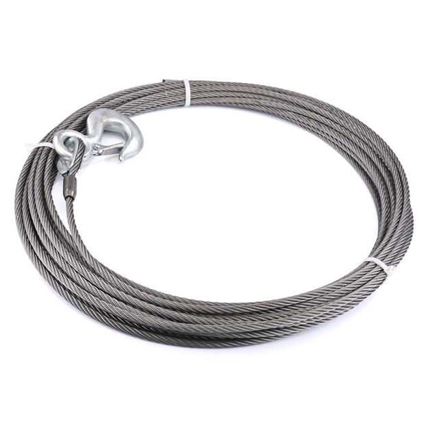 "Foto de Winch Cable & Hook 3/8"" X 75' - 15,100 lb - 23672"