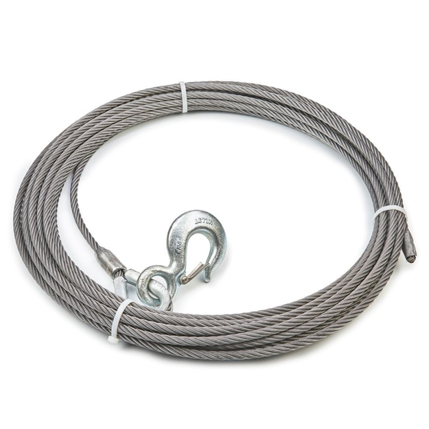"Picture of Winch Cable & Hook 7/16"" X 75' - 20,400 lb"