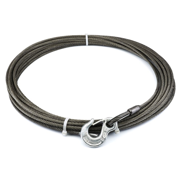 "Picture of Winch Cable & Hook 5/16"" X 75' - 10,540 lb"
