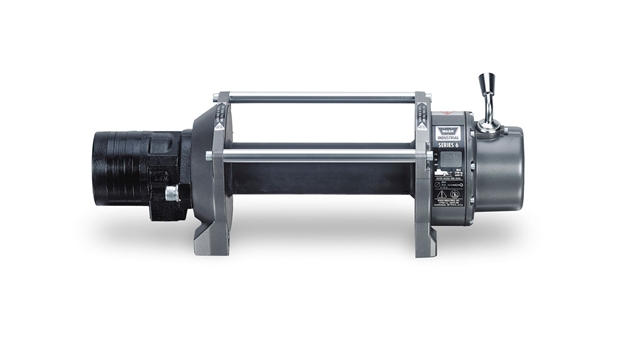 Image sur Series 6 Industrial Hydraulic Winch - 6,000 lb - 33445