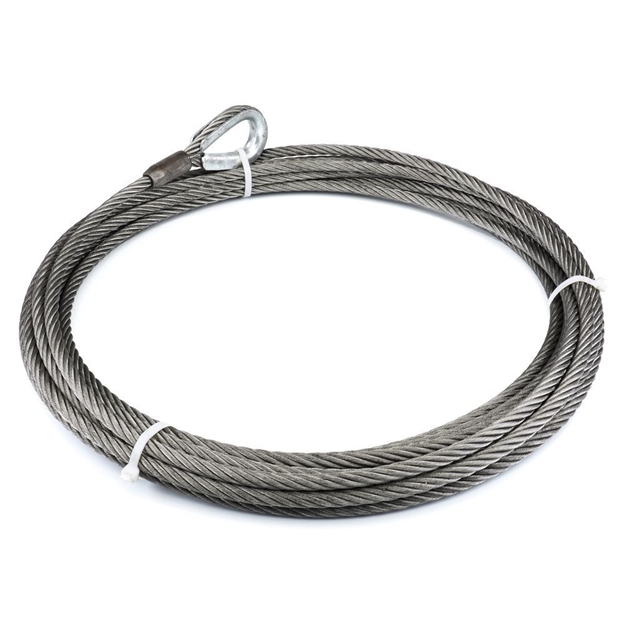 "Image sur Winch Cable & Hook 1/2"" X 60' - 26,600 lb"