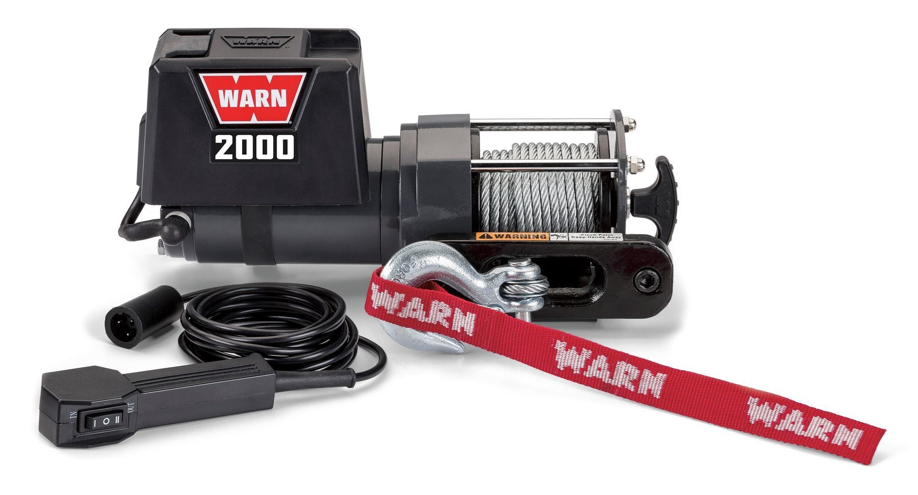 Warn 1700 Winch Wiring Diagram 2000 Dc 12v Electric 92000 Industries Go Prepared Foto De