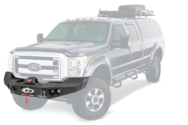Front Bumper Compatible with 1999 Ford F-250 Super Duty Gray