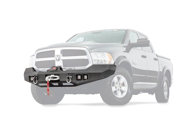 Image sur Ascent Front Bumper for RAM 1500 - 100922