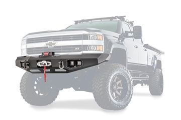 Picture of Ascent Front Bumper for Chevy Silverado HD - 100921