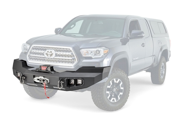 Toyota Tacoma Front Bumper >> Ascent Front Bumper For Toyota Tacoma Warn Industries Go Prepared