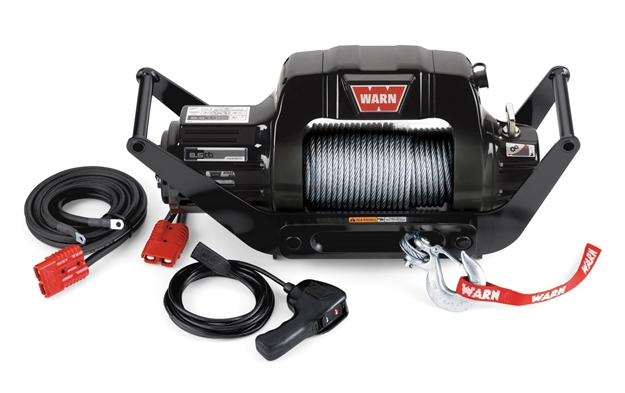 Image sur 9.5cti Multi-Mount 12V Electric Winch