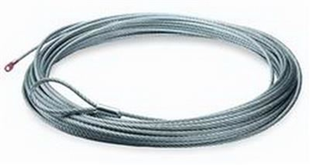 "Picture of Winch Cable & Hook 5/16"" X 150' - 9,000 lb"