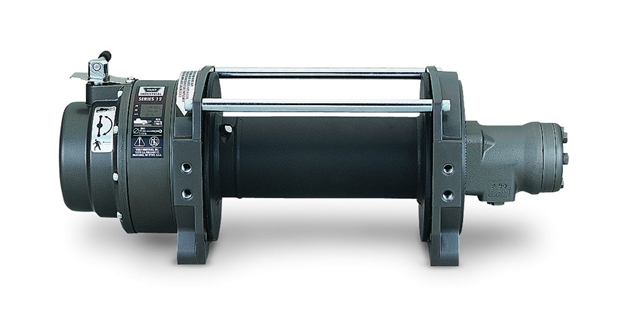 Image sur Series 12 Industrial Hydraulic Winch - 12,000 lb - 30286