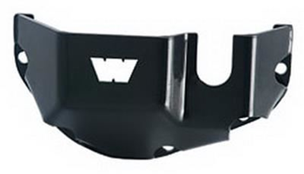 Picture of Differential Skid Plate, Dana 30, Black Steel