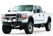 Image sur Black Trans4mer Brush Guard for '05-'07 Ford Super Duty Trucks - 69685