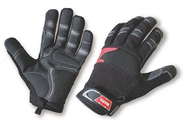Picture of XXL Winch Gloves, Black