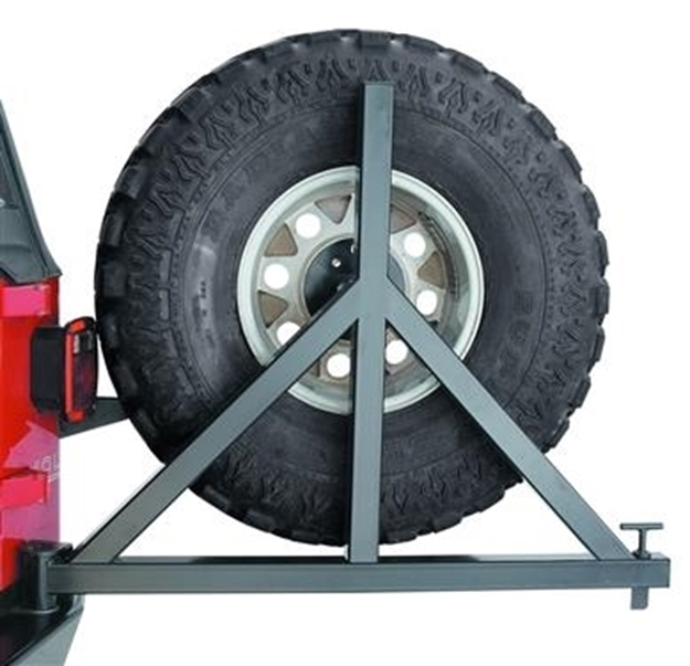 Foto de Spare Tire Carrier for '76-'86 Jeep CJ17