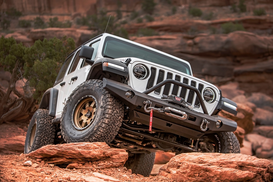 New Product: WARN Elite Series Bumpers for Jeep Wrangler JL