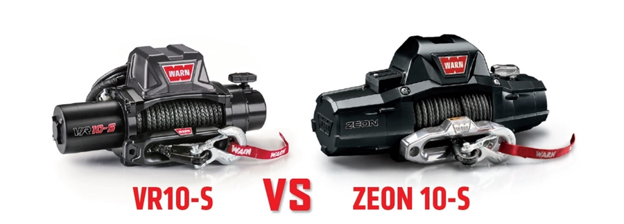 Comparison: WARN VR vs  ZEON | WARN Industries | Go Prepared
