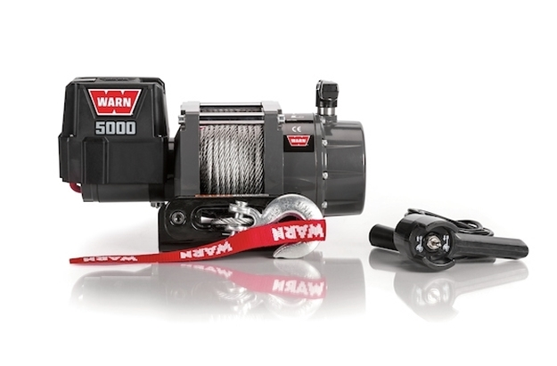 Image sur 5000 DC Series 12V Electric Winch, CE