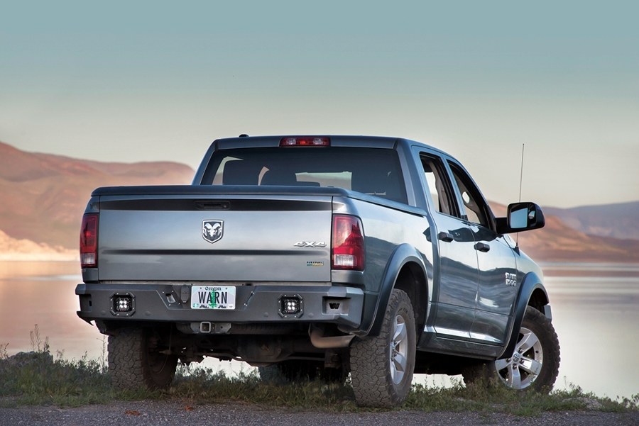 New Product: WARN Ascent Rear Bumpers
