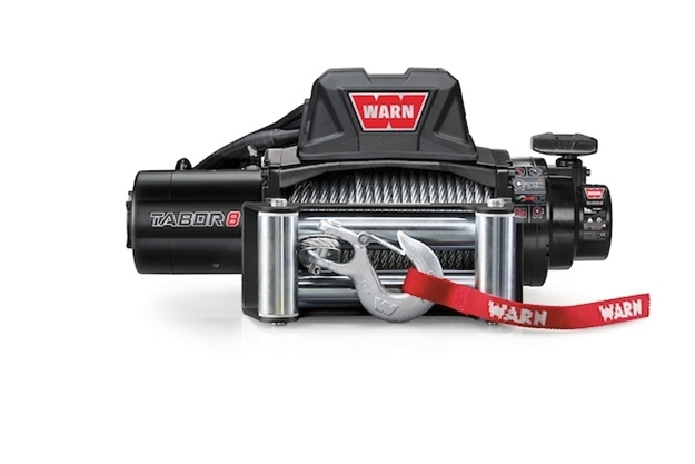 Image sur TABOR 8 - 12V Winch (No Rope or Fairlead)