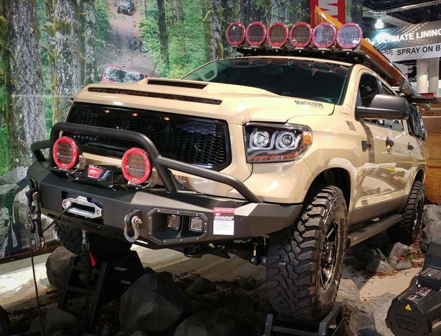 New WARN Products From the 2017 SEMA Show