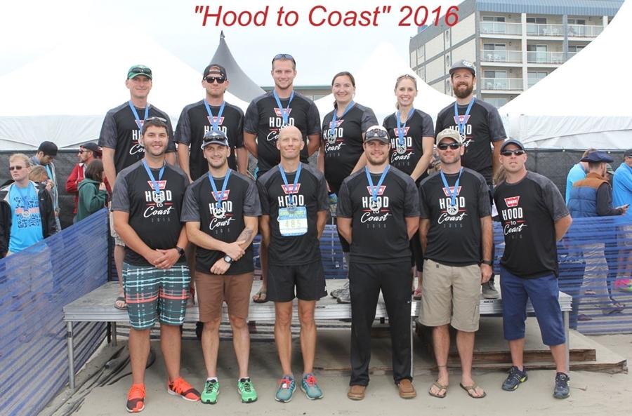 Warn Employees Run in the Hood to Coast Relay