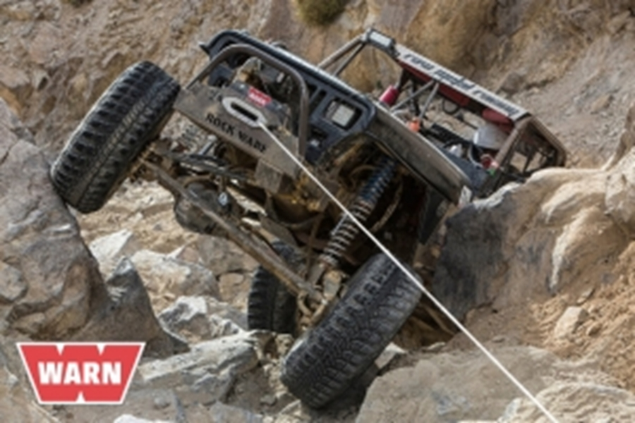 Official Winch of Ultra4 Warn Industries Offers 2016 Nitto King of the Hammers Contingency