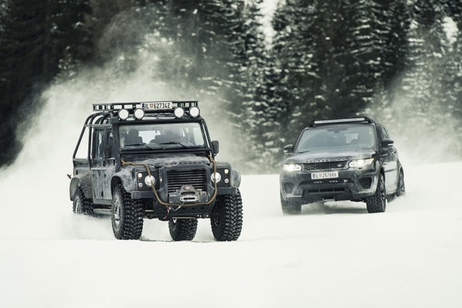 WARN Featured on SPECTRE Land Rover