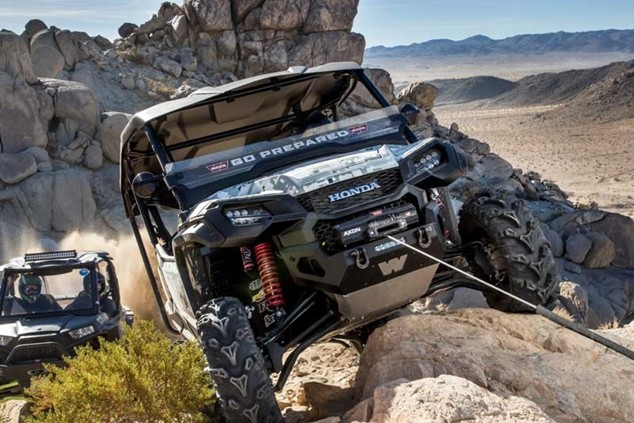 The All-New WARN AXON & VRX Powersports Winches | WARN