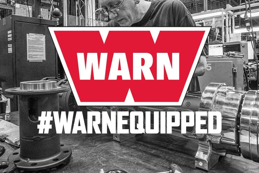 Rebate: Up to $250 cash back on WARN winches