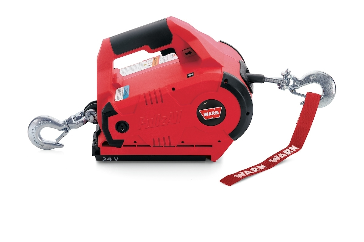 PULLZALL CORDLESS 1000 LB PORTABLE WINCH 885030 (1 BATTERY)