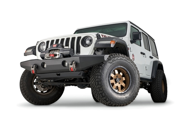 Full Width Crawler Bumper Without Grille Guard Tube For Jl Jk Jt 102145 Warn Industries