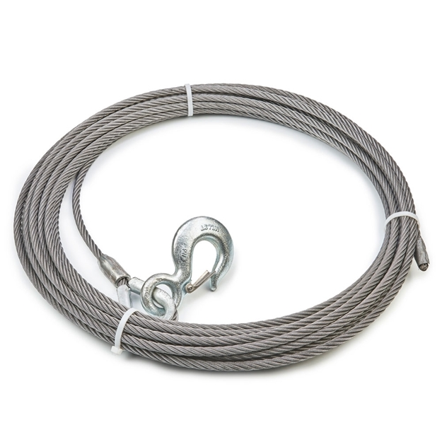"Foto de Winch Cable & Hook 7/16"" X 150' - 20,400 lb"
