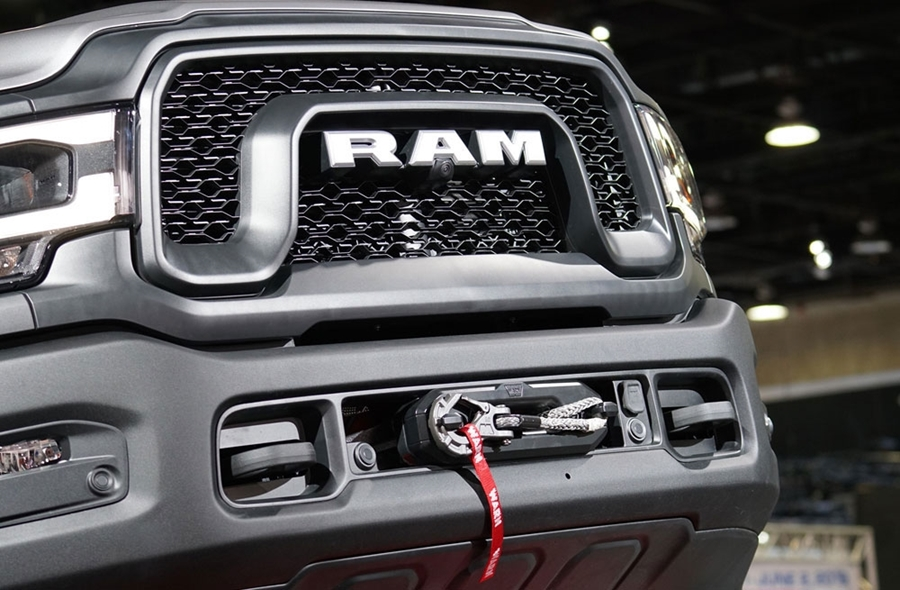The New Ram Power Wagon Gets a New WARN Winch