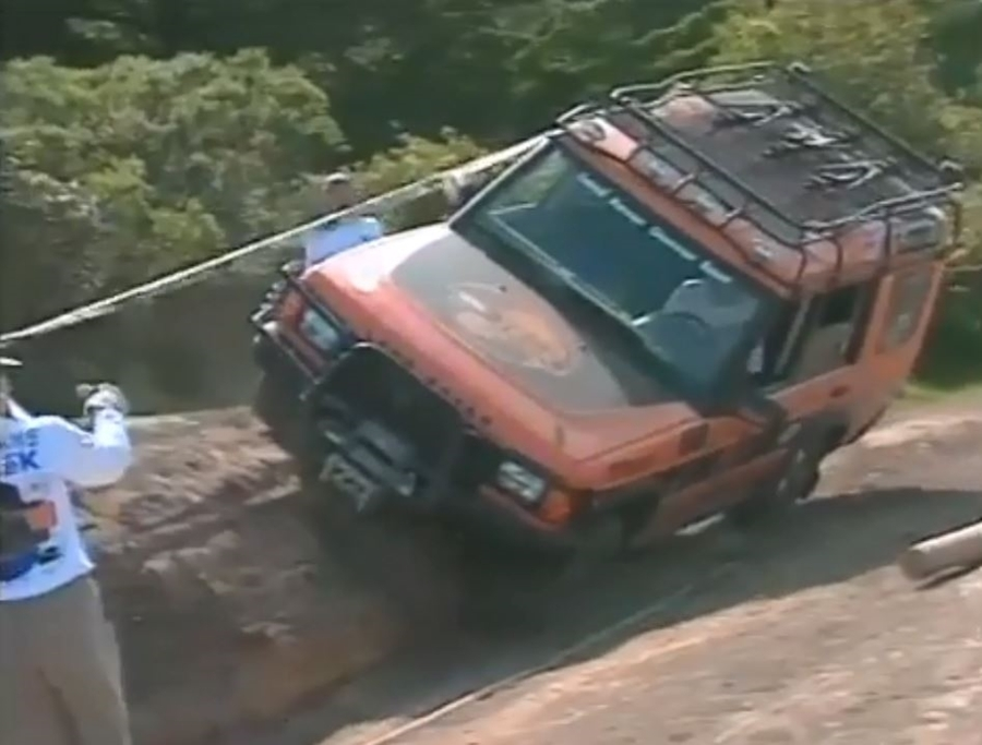 Throwback: Land Rover TReK Challenge