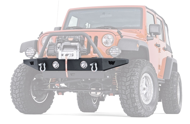 Jeep Rock Crawler >> Rock Crawler Front Bumper For 07 18 Jeep Wrangler Jk 89430