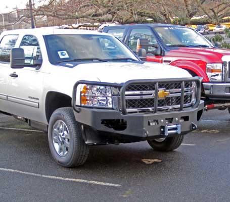 WARN Heavy Duty Bumper for the Chevrolet Silverado