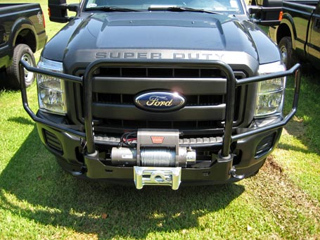2011 Ford Super Duty F-250 with WARN Gen II Trans4mer and XD9000i winch