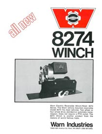 The history of the WARN M8274 winch | WARN Industries | Go Prepared