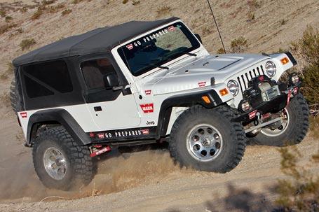 WARN Jeep Wrangler Unlimited