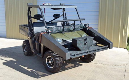 South Texas Outers Polaris Ranger Is Ready For Hunting Season Warn Industries Go Prepared