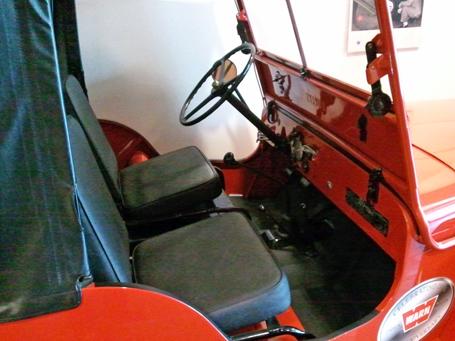 WARN Willys CJ2a interior