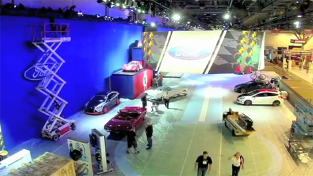 Ford's 2011 SEMA Booth time lapse - WARN Blog