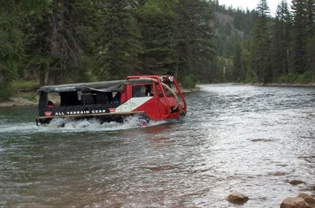 WARN Pinz water crossing
