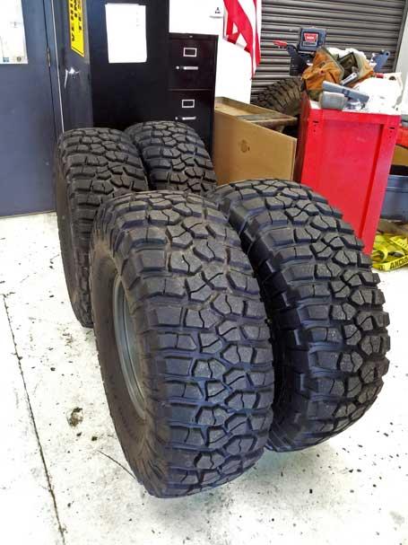 BFGoodrich Mud Terrain Tires