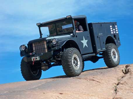 Max-Bilt's 53M-TRV off-road recovery vehicle