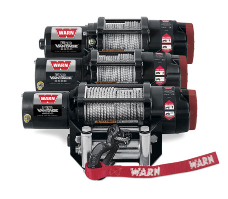WARN ProVantage winches with wire rope