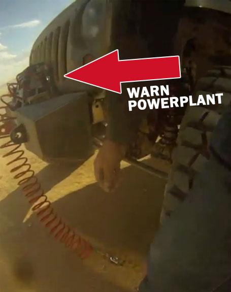 WARN PowerPlant on a Nemesis Industries Jeep