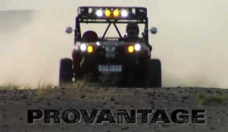 Can-Am Commander with WARN ProVantage winch