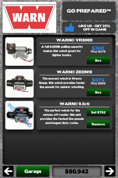WARN Winches in Offroad Nation